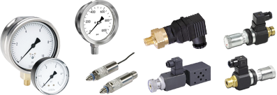 Sensors, Gauges, Pressure switches - Hydroni